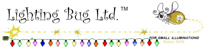 Lighting Bug Ltd. For Small Illuminations Since 1976